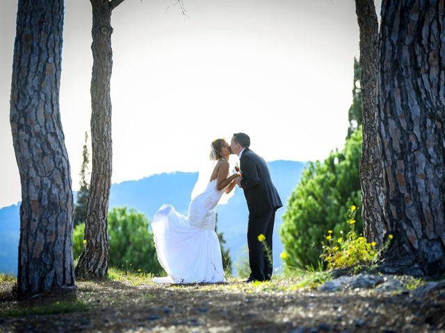 La boda de Javier y Rina en El Bruc, Barcelona 1