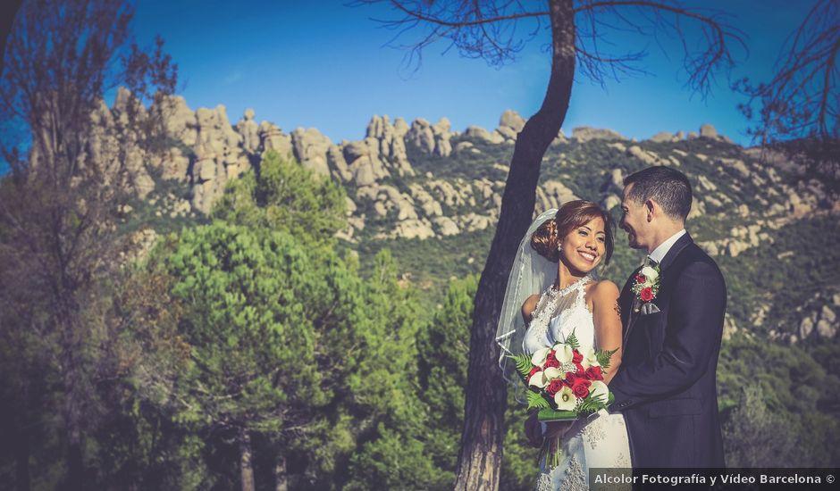 La boda de Javier y Rina en El Bruc, Barcelona