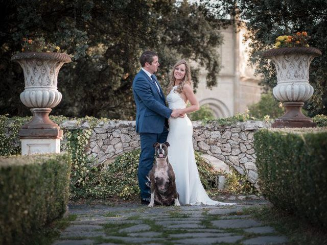 La boda de Fernando y Carmen en Mangiron, Madrid 1