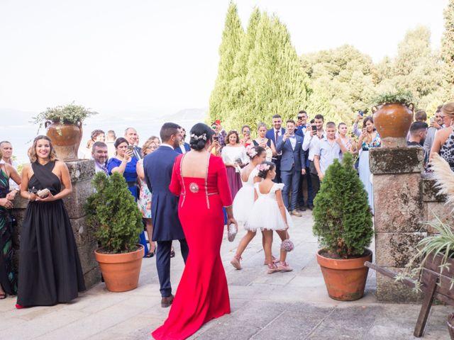 La boda de Andrea y Iván en Bueu (Meiro), Pontevedra 34