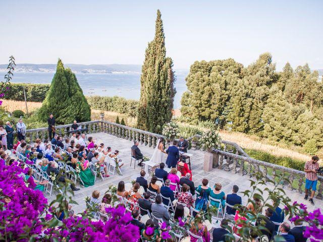 La boda de Andrea y Iván en Bueu (Meiro), Pontevedra 46