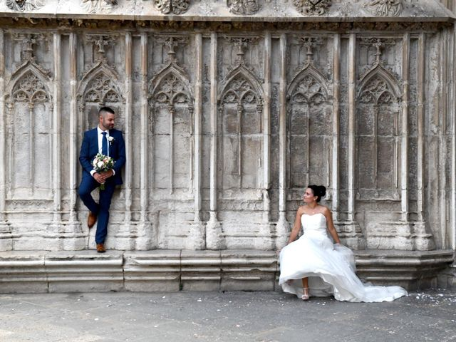 La boda de Albert y Silvia