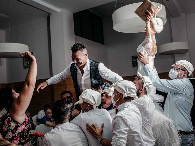 La boda de Dani y Guada en Talayuela, Cáceres 38