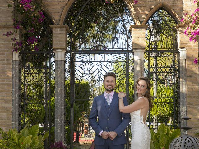 La boda de Philippe y Vanessa en Sanlucar La Mayor, Sevilla 4