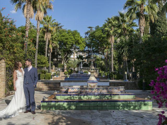 La boda de Philippe y Vanessa en Sanlucar La Mayor, Sevilla 10