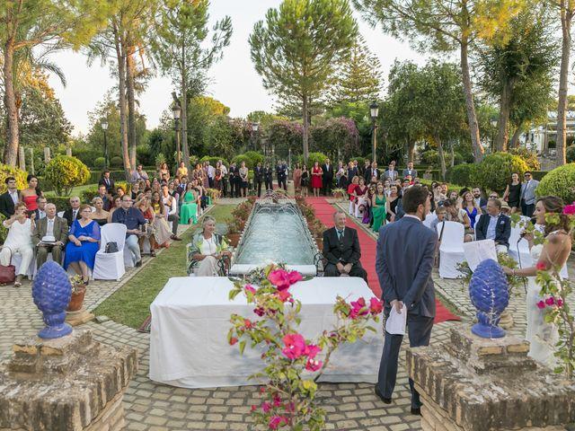 La boda de Philippe y Vanessa en Sanlucar La Mayor, Sevilla 25