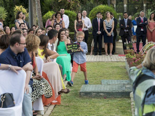 La boda de Philippe y Vanessa en Sanlucar La Mayor, Sevilla 27