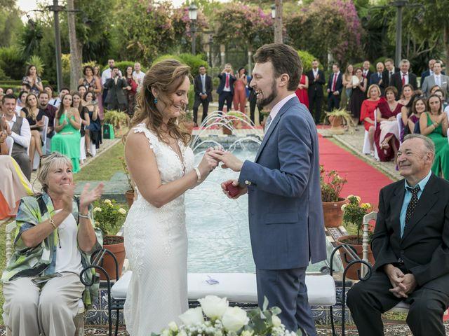 La boda de Philippe y Vanessa en Sanlucar La Mayor, Sevilla 28