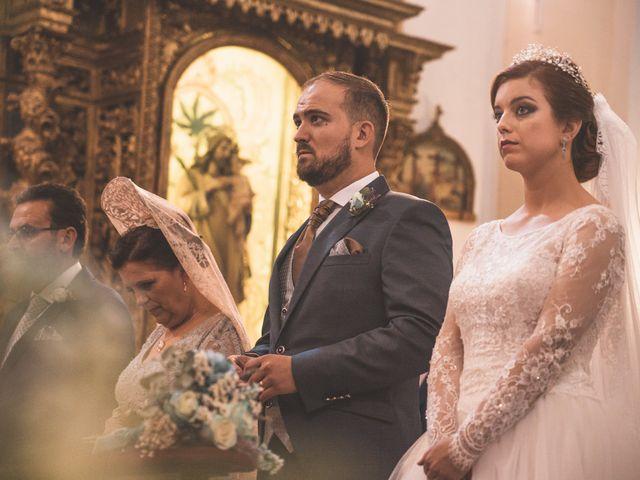 La boda de Almudena y Ismael en Puebla De La Reina, Badajoz 17