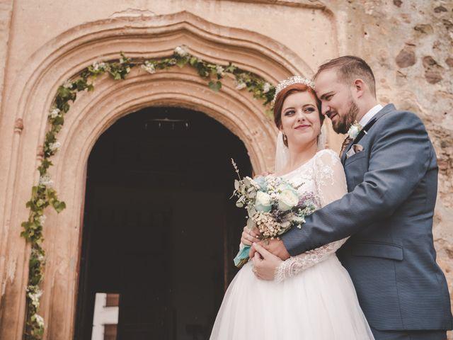La boda de Almudena y Ismael en Puebla De La Reina, Badajoz 28