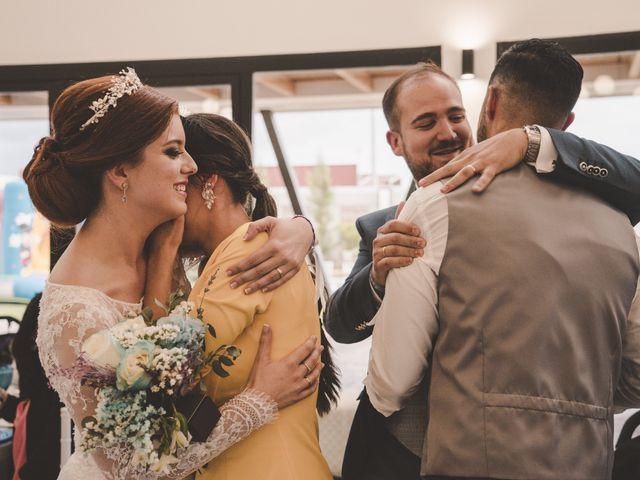 La boda de Almudena y Ismael en Puebla De La Reina, Badajoz 36