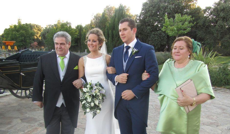 La boda de Fernando y Carmen en Mangiron, Madrid
