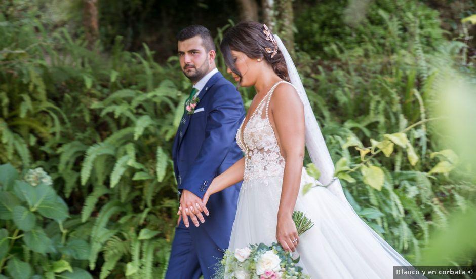 La boda de Andrea y Iván en Bueu (Meiro), Pontevedra