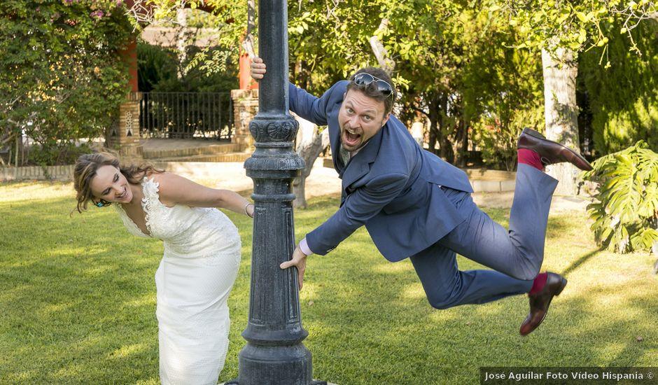 La boda de Philippe y Vanessa en Sanlucar La Mayor, Sevilla
