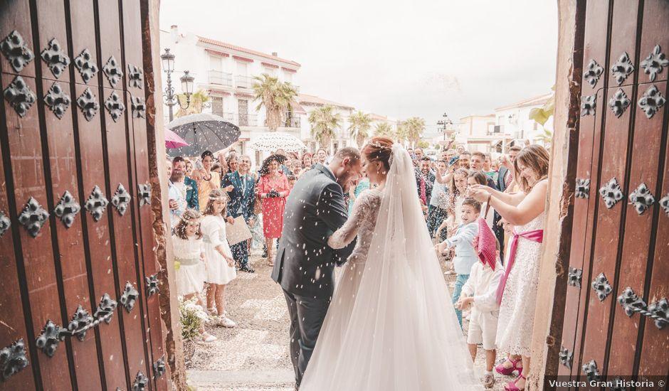 La boda de Almudena y Ismael en Puebla De La Reina, Badajoz