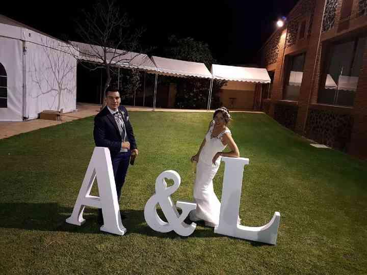 La boda de Lorena y Alexis