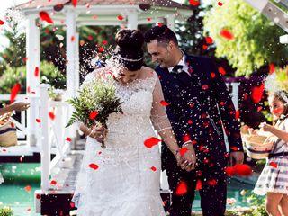 La boda de Cristian y Alba