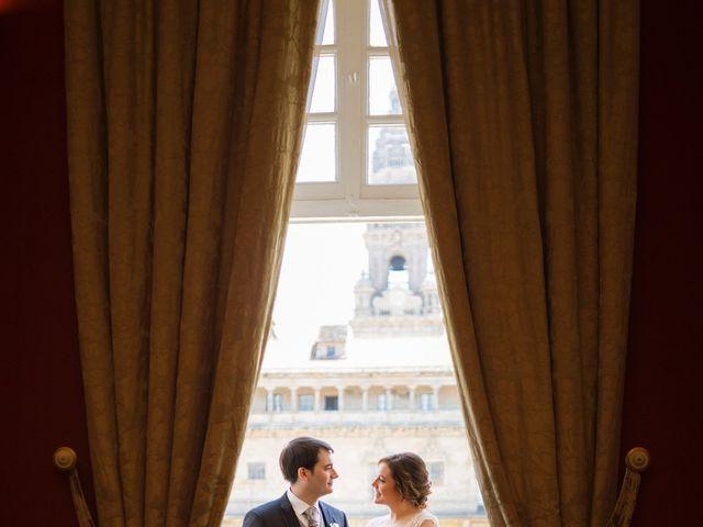 La boda de Sergio y Mariña en Santiago De Compostela, A Coruña 6