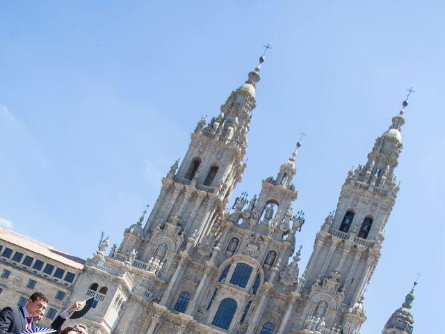La boda de Sergio y Mariña en Santiago De Compostela, A Coruña 7