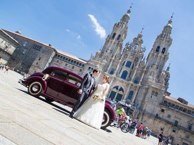 La boda de Sergio y Mariña en Santiago De Compostela, A Coruña 8