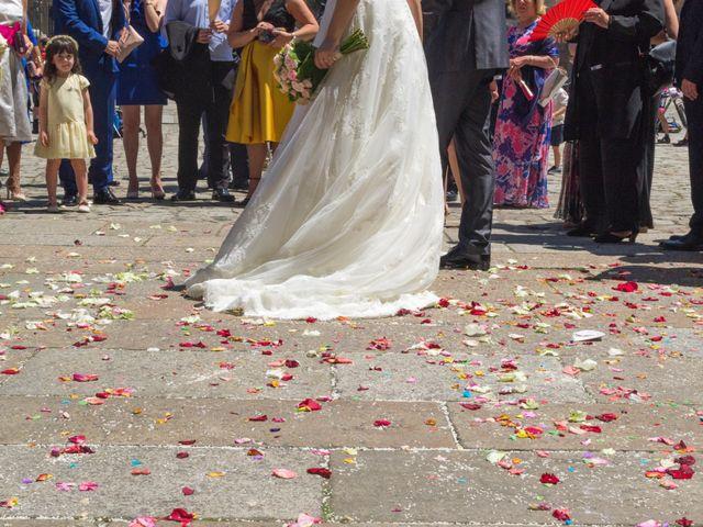 La boda de Sergio y Mariña en Santiago De Compostela, A Coruña 2