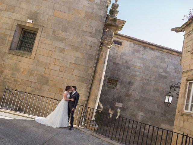 La boda de Sergio y Mariña en Santiago De Compostela, A Coruña 26