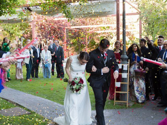 La boda de Rubén y Marian en Torrecaballeros, Segovia 1