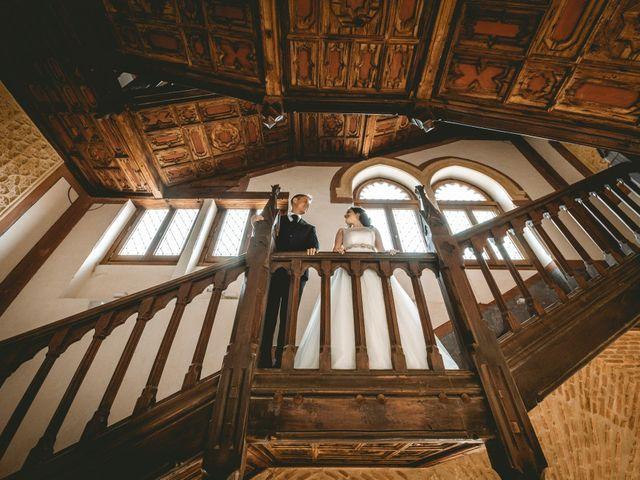 La boda de Alberto y Virginia en Montalbo, Cuenca 1
