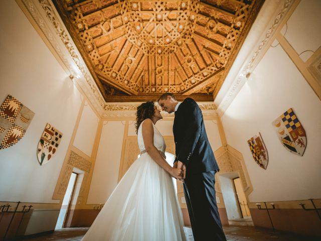 La boda de Alberto y Virginia en Montalbo, Cuenca 4