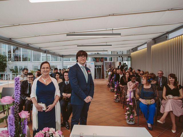 La boda de Javier y Laura en O Grove (Resto Parroquia), Pontevedra 27