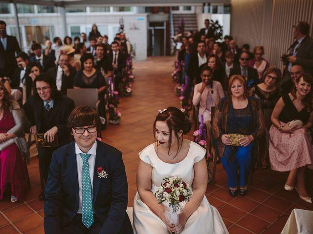 La boda de Javier y Laura en O Grove (Resto Parroquia), Pontevedra 29