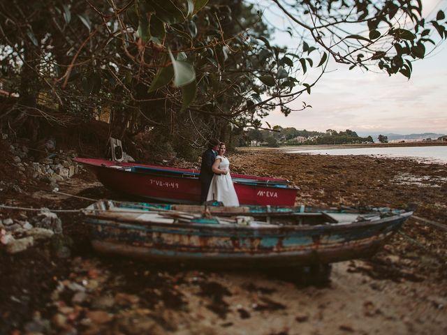 La boda de Javier y Laura en O Grove (Resto Parroquia), Pontevedra 47