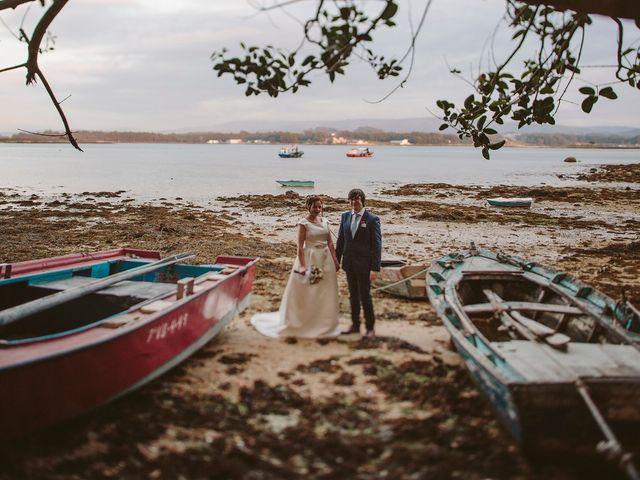 La boda de Javier y Laura en O Grove (Resto Parroquia), Pontevedra 48