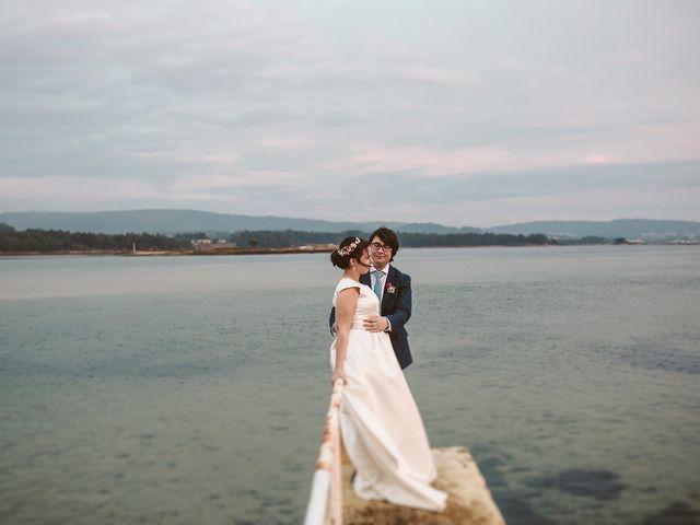 La boda de Javier y Laura en O Grove (Resto Parroquia), Pontevedra 51