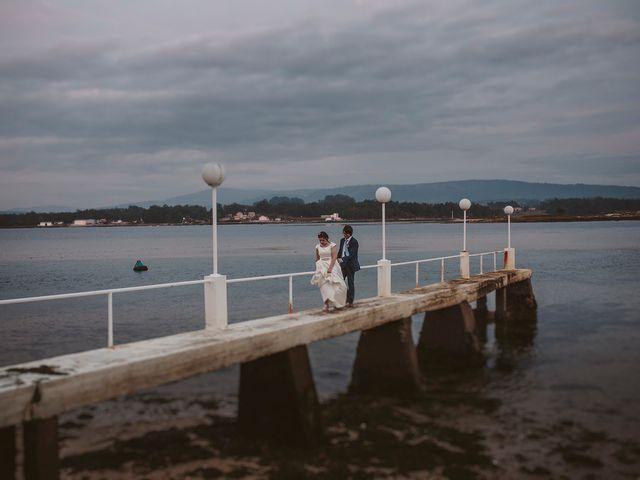 La boda de Javier y Laura en O Grove (Resto Parroquia), Pontevedra 53