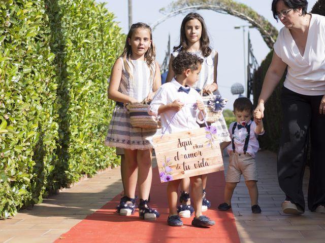 La boda de Alba y Cristian en Montbrio Del Camp, Tarragona 39