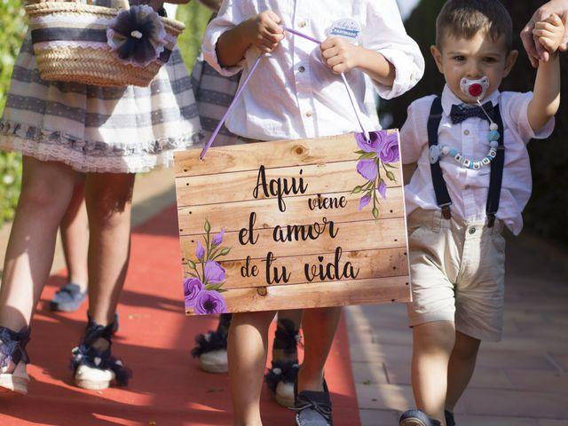 La boda de Alba y Cristian en Montbrio Del Camp, Tarragona 40