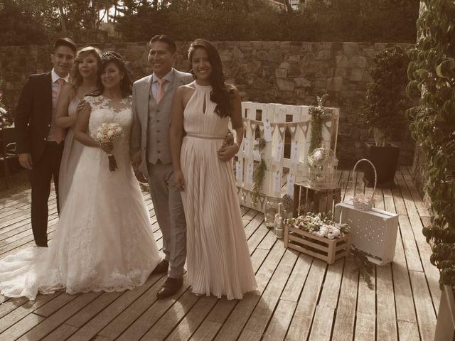 La boda de Galo y Yadira en Premia De Dalt, Barcelona 13