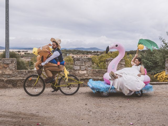 La boda de Rebeca y David en Cáceres, Cáceres 46