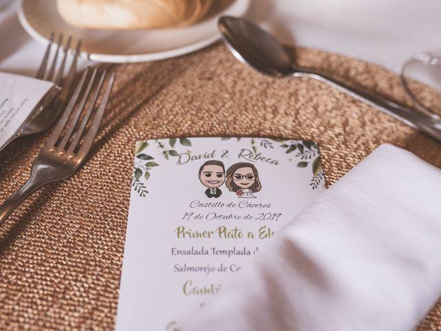 La boda de Rebeca y David en Cáceres, Cáceres 47