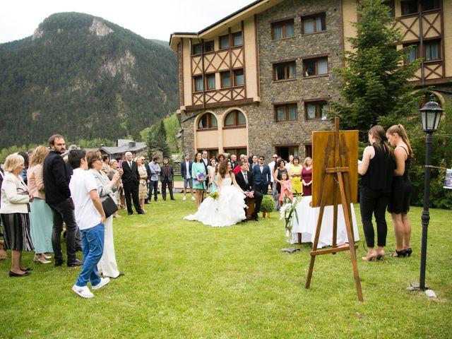 La boda de Xema y Patricia en Andorra, Teruel 14