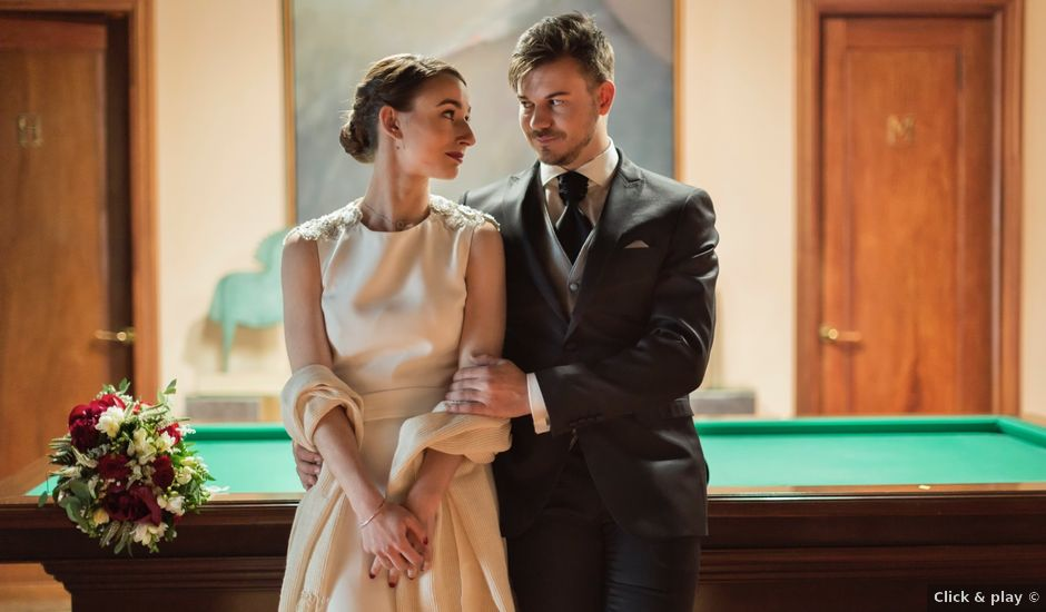 La boda de Rubén y Marian en Torrecaballeros, Segovia