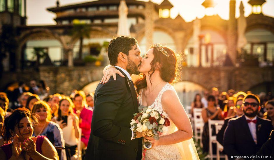 La boda de Leslie y Bea en Mangiron, Madrid