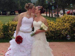 La boda de Rocio  y Jèssica  1