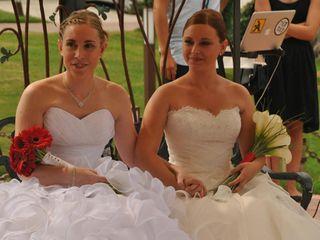 La boda de Rocio  y Jèssica
