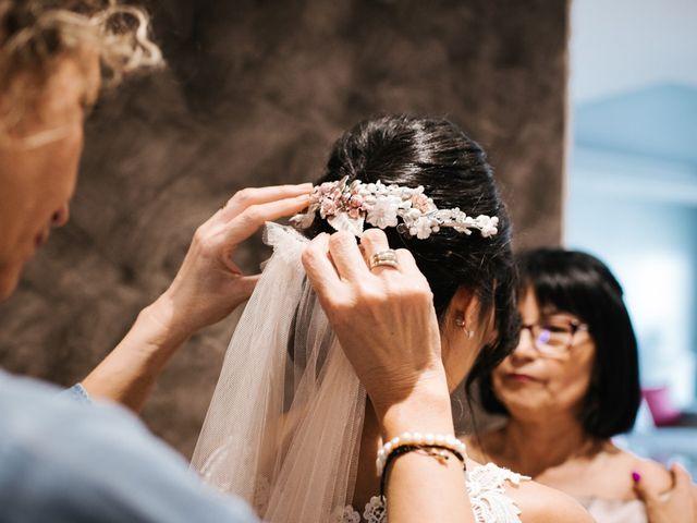 La boda de Sergio y Zully en Ventas De Armentia, Burgos 11