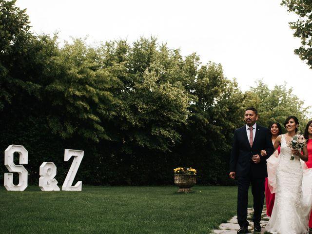 La boda de Sergio y Zully en Ventas De Armentia, Burgos 14
