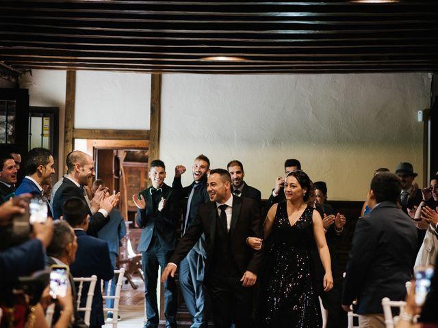 La boda de Sergio y Zully en Ventas De Armentia, Burgos 15