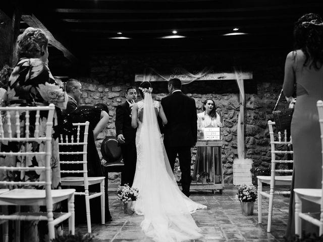 La boda de Sergio y Zully en Ventas De Armentia, Burgos 17