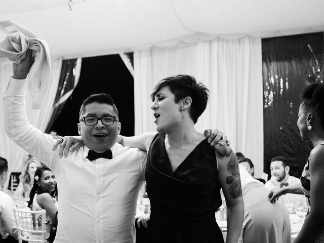 La boda de Sergio y Zully en Ventas De Armentia, Burgos 46